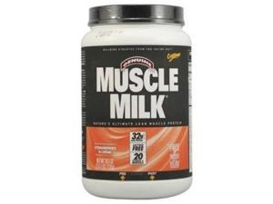 CytoSport Muscle Milk, Strawberries and Creme, 2.47 Pounds - Cytomax