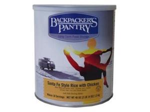 Backpackers Pantry #10 Cansanta Fe Rice W/Chicken Can -Bp Entree #10 Cans