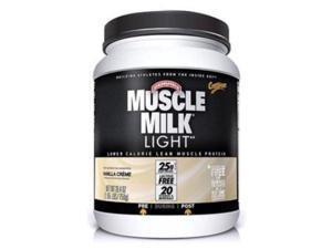 CytoSport Muscle Milk Light Vanilla Creme -- 1.65 lbs - Cytomax