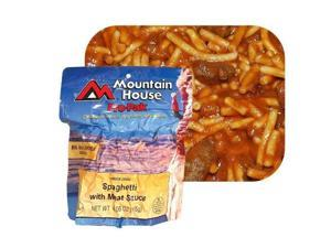 Mountain House Spaghetti with Meat Sauce - 1 Serving Entree One Color, One Size - Mountain House