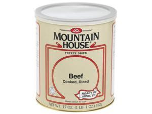 Mountain House #10 Can Diced Beef, Cooked (15 2/3 cup servings) - Mountain House