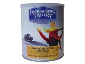 Backpackers Pantry #10 Canjamaican Jerk Rice W/Chckn Can -Bp Entree #10 Cans