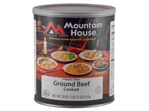Mountain House Ground Beef Can -Mountain House #10 Cans