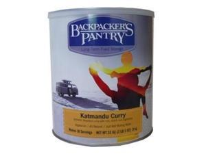 Backpackers Pantry #10 Cankatmandu Curry Can -Bp Vegetarian Entree #10 Cans