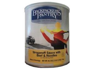 Backpackers Pantry Stroganoff W/Beef/Noodles Can -Bp Entree #10 Cans