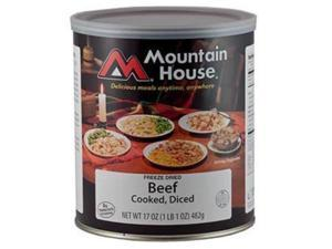 Mountain House Diced Beef Can -Mountain House #10 Cans
