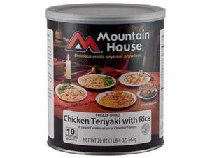 Mountain House #10 Canchicken Teriyaki W/Rice Can -Mountain House #10 Cans