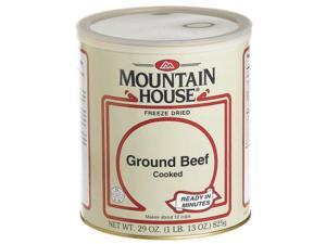 Mountain House #10 Can Ground Beef, Cooked (18 3/4 cup servings) - Mountain House