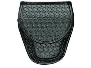 Bianchi Accumold Elite 7900 Chrome Snap Covered Cuff Case (Plain Black, Size 1) - 22064 - Bianchi