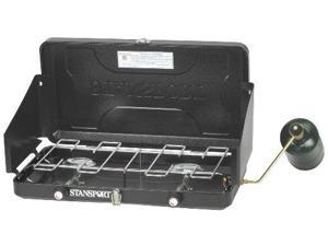 Stansport Two Burner Regulated Propane Stove - Stansport