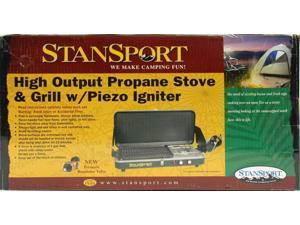 Stansport Stove/Grill W/Piezo Propane 206 (Outdoor Recreation/Outdoor Recreation)