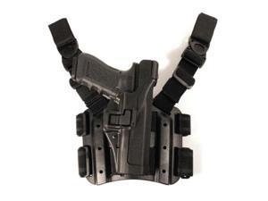 Blackhawk! Right Hand Blackhawk - Level 3 Tactical Serpa Holster, Glock 32