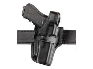 Safariland 070 Level III Retention Duty Holster, Mid-Ride, Black, Basketweave, Glock 17, 22 (Left Hand) - 070-83-182 - S