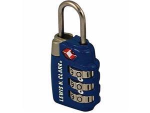 Lewis N. Clark Tsa Comb. Locks-2Pk Blue -Tsa Combo Lock 2Pk