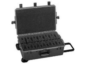Pelican Storm Cases iM2950 w/ Custom Foam for 20 M9s - Black 472PWCM920BLK - 472PWCM920BLK - Pelican Products