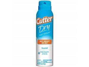 Cutter Dry Insect Repellent Mosquitoes Water Based Deet 4 Oz - Cutter