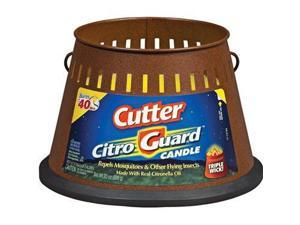 Cutter HG-95784-1 CitroGuard 20-Ounce Insect Repellent Triple Wick Candle, Case Pack of 6 - Cutter