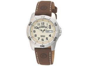 Timex Expedition Mens Traditional Silver/brown - Timex