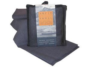 Aquis Adventure Microfiber Towel , Graphite , Large (19 x 39-Inches) - Aquis