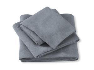 Aquis Adventure Towel Black/X-Large - Aquis