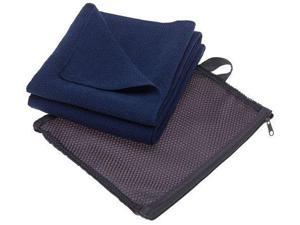 Aquis Adventure Microfiber Towel , Blueberry , Large (19 x 39-Inches) - Aquis