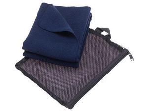Aquis Adventure Microfiber Towel , Blueberry , Medium (15 x 29-Inches) - Aquis
