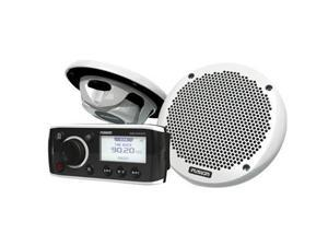 FUSION MS-RA50KTS Bundle w/MS-RA50 Receiver & MS-EL602 Speakers - (Pair) WhiteFUSION - MS-RA50KTS