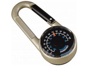 Munkees Carabiner Compass W/Thermomtr -Munkees Compasses
