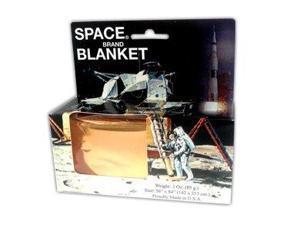 Space 127012 Emergency Blanket - Gold - Space