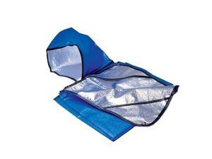 All Weather Blanket With Hood Blue - Space