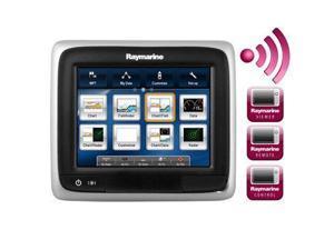 Brand New Raymarine A65 5.7 Mfd Touchscreen Display W/Wifi & Gold Chart - E70162-GLD - Raymarine