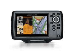 The Excellent Quality Humminbird Helix 5 DI/GPS Combo w/ Temperature - 409620-1 - Humminbird