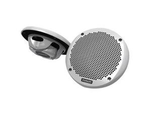 "FUSION 6"" Shallow Mount Speaker - (Pair) WhiteFUSION - MS-EL602"