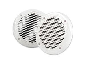 "FUSION 6.5"" Round 2-Way Speakers - 200W - (Pair) WhiteFUSION - MS-FR6520"