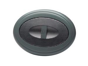 PolyPlanar MA50G 2 Waterproof Marine Speakers - Grey - MA50G - Polyplanar