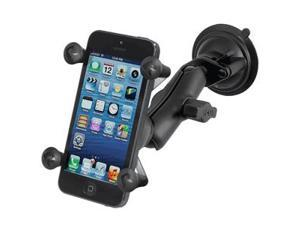 RAM Mount Twist Lock Suction Cup Mount w/Universal X-Grip Cell Phone Holder - RAM-B-166-UN7U - Ram Mounting Systems