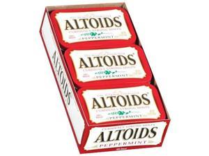 Altoids Curiously Strong Mints , Peppermint , 1.76-Ounce Tins (Pack of 12) - Altoids