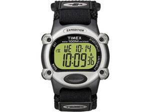 Timex Expedition Mens Chrono Alarm Timer Silver/BlackTimex - T48061