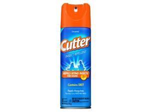 Cutter 51020 Unscented Insect Repellent 10-percent Deet, 6-ounce Aerosol - Cutter