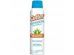 Cutter Skinsations Insect Repellent Aerosol, 6-Ounce, 12-Pack - Cutter
