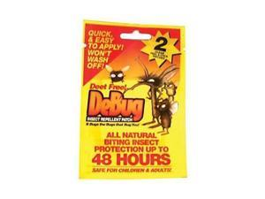 Debug Debug Insect Repel Patch 2Pk -Debug Insect Repellent Patch