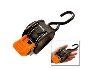"CargoBuckle Mini Retractable Ratchet Tie-Downs - 1"" x 72"" - No HardwareCargoBuckle - F103745BU"