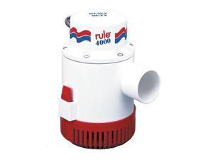 Rule 4000 Non-Automatic Bilge Pump - 12V - 56D - Rule