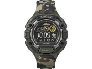 "Timex Men's T499719J ""Expedition"" Digital Watch with Camouflage Strap - Timex"