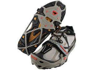 Yaktrax 08163 Run Size Large Gray/Red Fits W13-15 - Yaktrax