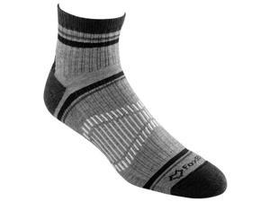 Fox River Peak Qtr Crew Mens Black Xl -Peak Hiking Sock
