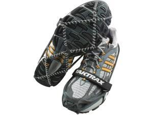 Yaktrax Pro Traction Cleats for Snow and Ice, Black, Large - Yaktrax