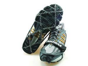 Yaktrax Pro Traction Cleats for Snow and Ice,Black,X-Large - Yaktrax