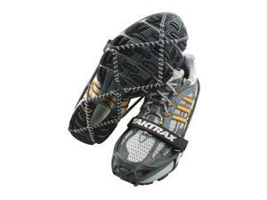 Yaktrax Pro Traction Cleats for Snow and Ice, Black, Small - Yaktrax