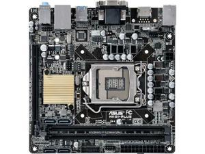 Asus H110I-PLUS/CSM Desktop Motherboard - Intel H110 Chipset - Socket H4 LGA-1151